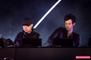 Gareth McGrillen (left) and Rob Swire (right) performing live at Ultra Music Festival Miami in 2013.